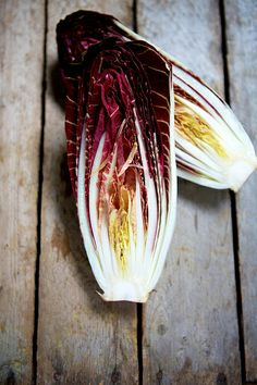 Grilled Treviso Radicchio with Watercress & Creamy Blue Cheese Salad Recipe #food #cooking