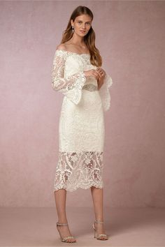 for the trendy bride | Emilia Dress from BHLDN