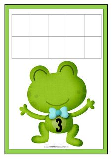 Insect Activities, Preschool Learning Activities, Kids Math Worksheets, Frog Art, Math For Kids, Yoshi, Cool Kids, Frog Theme, Fictional Characters