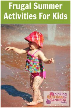 Frugal Summer Activities For Kids - Thinking Outside The Sandbox Family DIY, Recipes, Autism, Kids