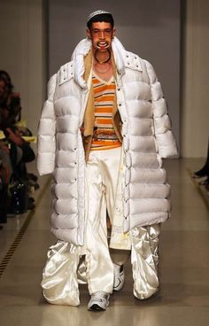 JuunJ Spring/Summer 2014 ~ yah I'm a hot actor! look at me I was in Ghostbusters as the marshmallow man....gotta prob?