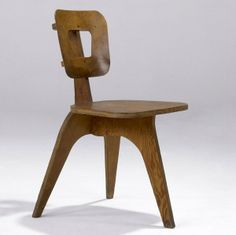 Arthur Collani; Plywood Side Chair, c1951.
