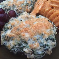 Chicken, Artichoke, and Spinach-Stuffed Portobellos - Allrecipes.com