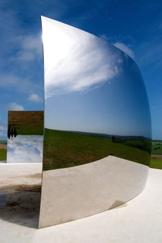 """C Curve"" by Anish Kapoor."