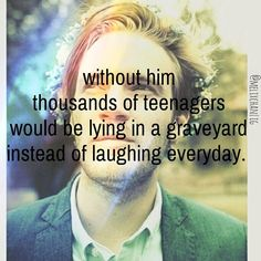 He can make anybody laugh on any day and I'm sure he has made somebody who was gonna commit suicide sit on the couch and laugh instead of kill themselves! So you people who find him stupid, rethink. Pewdiepie Jacksepticeye, I Love Him, My Love, Youtube Gamer, My Escape, True Stories, Make Me Smile, My Hero, Youtubers