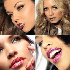 Would you wear these temporary lip tattoos?