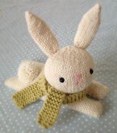 Knit Bunny Pattern - so cute!!