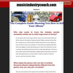 This Is A Complete Guide Showing Artists How To Make Hundreds Of Thousands And Even Millions Selling Their Own Cd!!! Earn 75% Commission Promoting A Completely Unique Product With A Huge Untapped Niche Created By A Genuine Expert!!! See more! : http://get-now.natantoday.com/lp.php?target=hamelech77