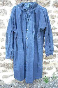 Ancienne Blouse Biaude Blaude Bleu Maquignon Marchand DE Vaches Paysan Normand | eBay