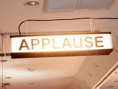 Picture of Personal Applause Sign