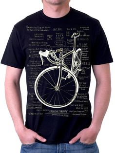 Cognitive Therapy Tshirt. Great cycling mantras.