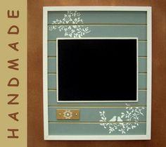 Deko-Objekte - Wandtafel, Küchentafel - nikita, Schreibtafel - ein Designerstück von nikita76 bei DaWanda Designer, Kitchen Appliances, Etsy, Handmade, Objects, Writing, Homes, Deco, House