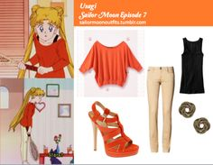 Sailor Moon Outfits  Serena, Usagi