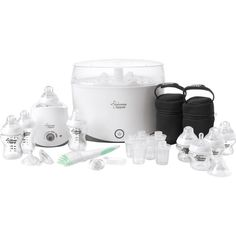 White Excellent In Quality Tommee Tippee Closer To Nature Complete Feeding Set