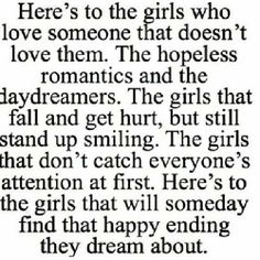 Here's to the girls