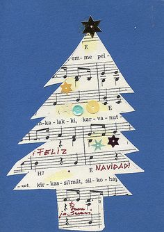 https://flic.kr/p/5JXvTL | joulukortti  142 - Christmas Tree Card | my collection