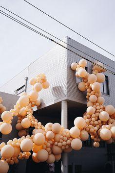 Geronimo installation at Hub Furniture, Abbotsford, Melbourne. #MelbourneDesignWeek2018 geronimoballoon