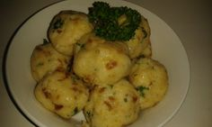 Dumpling Recipe, Dumplings, Czech Recipes, Ethnic Recipes, Cooking Recipes, Healthy Recipes, Gnocchi, Bread Crumbs, No Cook Meals