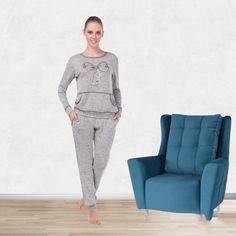 Mendo Pijama Takımı 599 - Dar paça sevenlerin rahatlıkla kullanabileceği cepli pijama takımı. - Uykustore.com | İyi uykular