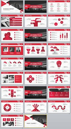 templates Video Features: Redcolor business PowerPoint templates Easy and fully editable in PowerPoint (shape color, size, position, etc) Easy customizable contents Brand Presentation, Business Presentation Templates, Presentation Layout, Business Plan Template, Powerpoint Design Templates, Professional Powerpoint Templates, Keynote Template, Web Design, Startup