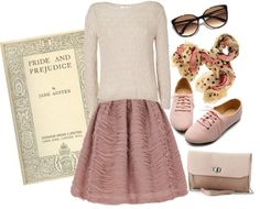 """""""Pride and Prejudice"""" by nonstopmusic ❤ liked on Polyvore"""