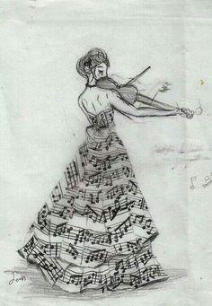 Musical dress
