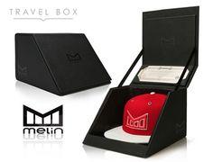 Introducing MELIN BRAND Luxury Snapback Caps Box Estante para mi vestidor, largo y con tapa. O no..