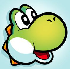How to Draw Yoshi Easy, Step by Step, Video Game Characters, Pop . Mario Kart, Mario E Luigi, Easy Drawing Steps, Step By Step Drawing, Easy Drawings, How To Draw Mario, How To Draw Yoshi, Yoshi Drawing, Tinkerbell Drawing