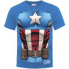 ¡¡Chollo!! Camisetas de Marvel de Iron Man y el Capitán América por 10,35 euros cada una con los gastos de envío gratis.
