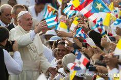 Audios, vídeos y textos de las intervenciones del Papa Francisco en su viaje apostólico a Cuba, Estados Unidos, y la visita a la sede de la ONU, con motivo de su participación en el VIII Encuentro Mundial de las Familias en Filadelfia. Actualizado el miércoles.