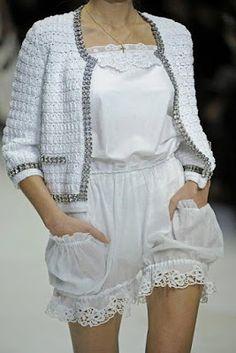 GILET EN SUPER STYLE DOLCE & GABBANA - CROCHET CARDIGANS - Crochet Beautiful