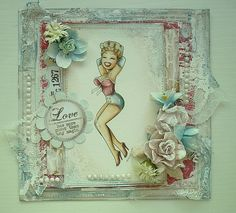 Showgirl --Whimsy Stamps