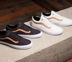 vans old skool aged leather boots