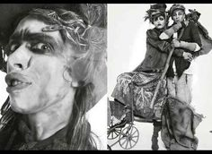 Powdered Victorian Editorials - Models Feign Royalty for 'Lady Grey' in Vogue Italia (GALLERY)