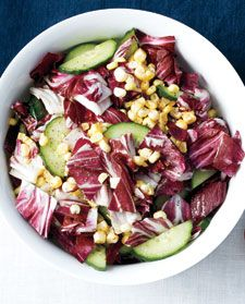 Tricolor Salad:  This looks so good I am going to try it this weekend when we have company for a grilled steak and grilled asparagus dinner.