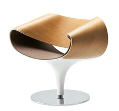 Perillo lounge chair by Martin Ballendat. http://design345.com/2010/05/27/designer-lounge-chair/