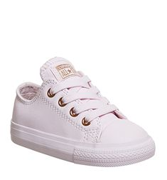 Converse, All Star Ox Leather Infant, Arctic Rose Gold Exclusive