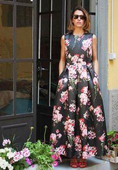#abito #jacquard #fiori #chic #anni50 #fifties #lunaticamilano #tailormade #milano #madeinitaly