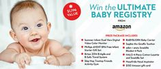 Baby Items Prize Package - Whole Mom