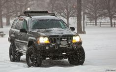Snow Jeepin 2001 Jeep Grand Cherokee Limited WJ MOAB Tested and Approved Voted Jeep Grand Cherokee