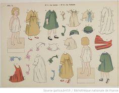J'habille, je découpe, je colore mes poupées : album à colorier / dessin de H. Delalain - 4