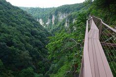 Okatse canyon, Imereti, western Georgia♥ოკაცეს კანიონი, იმერეთი