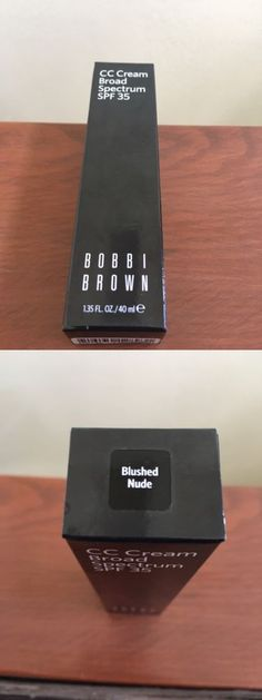 BB CC and Alphabet Creams: Bobbi Brown Cc Cream Broad Spectrum Spf35 Blushed Nude 1.35 Oz -> BUY IT NOW ONLY: $33.0 on eBay!