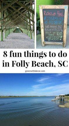 8 fun things to do in Folly Beach | where to eat in Folly Beach near Charleston | what to do in Folly Beach, South Carolina | best restaurants in Folly Beach | Folly Beach dinner | Folly beach brunch | where to paddleboard in Folly Beach