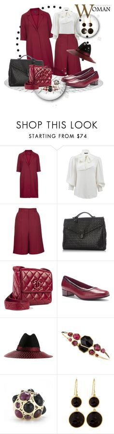 """Confident Woman"" by leanne-mcclean ❤ liked on Polyvore featuring Sister Jane, Alexander McQueen, Bottega Veneta, Chanel, Trotters, Gigi Burris Millinery and Ippolita"