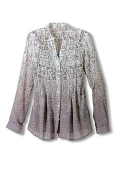 Ombre Printed Blouse - Wovens | Coldwater Creek