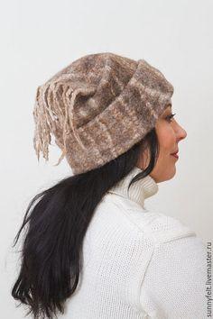 Купить или заказать Валяная шапка МУЖСКАЯ/ЖЕНСКАЯ/УНИСЕКС 'Я бы в викинги пошел' в интернет-магазине на Ярмарке Мастеров. Эта прикольная теплая шапка, сваляна из натурально окрашенной шерсти шетланда. Высота шапки регулируется. Если вам нравятся необычные штуки для зимы - добро пожаловать !