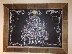 Chalk Whisperer 54x39 Frame