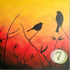 easy paintings to paint for beginners - Google Search