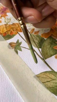 handmade.idei on Instagram: 🍁💗 @_sri.vas.tva_ #autumnart #autumnartwork #autumnpalette #lillies #pastels #botanicalartist #watercolorartist #watercolorist… Autumn Art, Drawing Tips, Art Lessons, Watercolor Art, Cool Art, Art Drawings, Illustration, Artist, Artwork